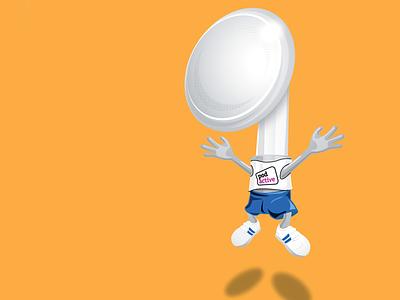 Ear Bud illustration cartoon character