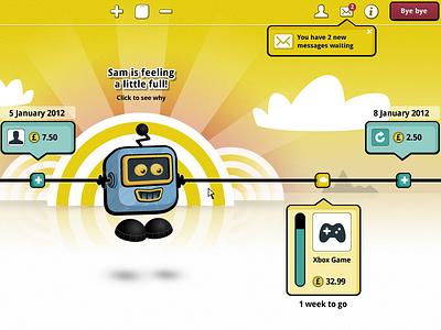 Join Sam ui user interface finance