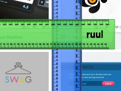 Multiple ruul ruul ruler app chrome extension fun tool
