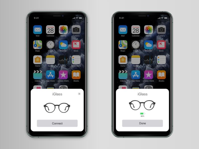 Apple Glasses Pairing