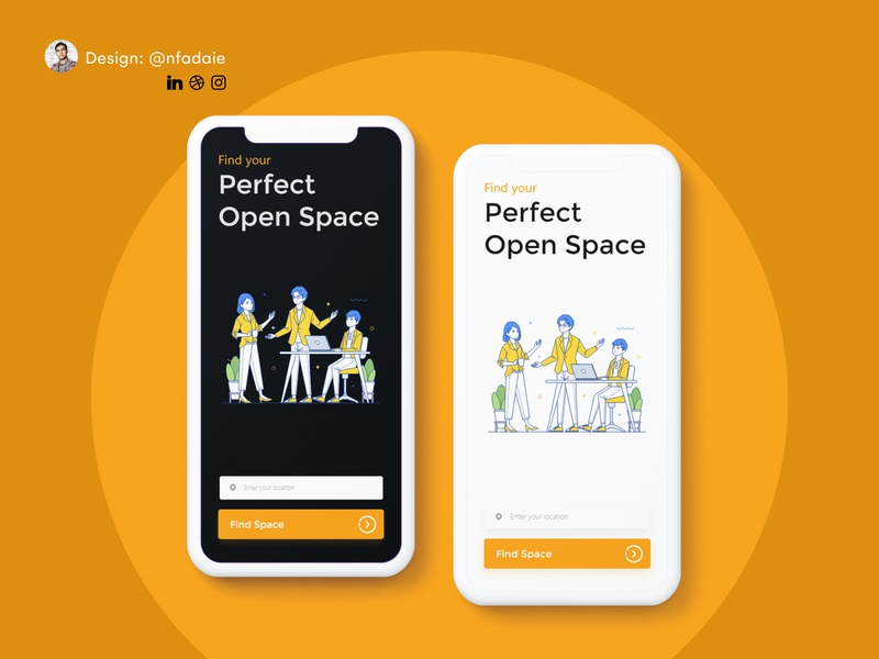 Coworking Space Booking App booking coworking coworking space uidesign designchallenge designwich appdesign