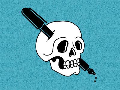 Draw Til Yer Dead tshirtdesigner branding cartoon tshirtdesign shirtdesign shirt logo illustration design apparel graphics