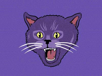 Fuzzy Cat tshirtdesigner tshirtdesign shirtdesign shirt illustration design cartoon branding apparel graphics
