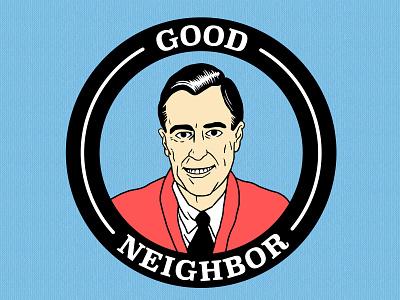 Good Neighbhor tshirtdesigner tshirtdesign shirtdesign shirt illustration design cartoon branding apparel graphics