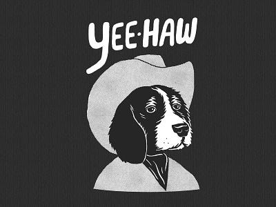 Yeehaw tshirtdesigner tshirtdesign shirtdesign shirt illustration design cartoon branding apparel graphics
