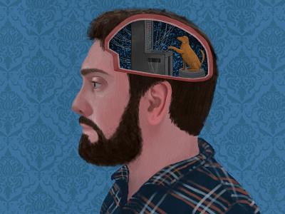 Mind Control procreateillustration procreate ipad ipadpainting illustration