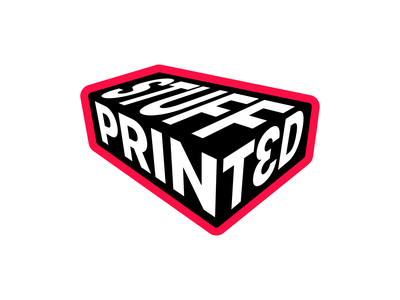 Print3d Stuff typography vector 3dprint logodesign logotype mark logo brand identity branding brand 3dprinter 3dprinting 3d