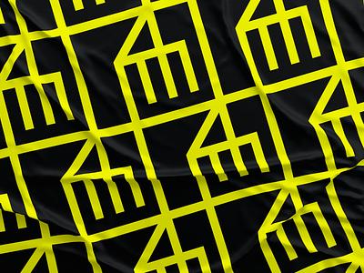 DM - Artwork render shape flag texture mark logotype logos dm draw brand logo sketch branding vector design artwork illustration art