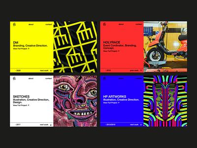 Davide Mascioli - Portfolio icon typography ux ui minimal vector design uiux webflow web development web designer website portfolio webdesign