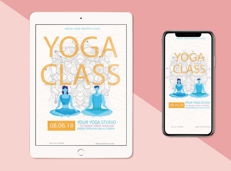 Yoga Flyer Add