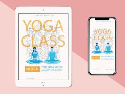 Yoga Flyer Add yoga flyer yoga flyer artwork flyer design flyer logo illustration vector branding graphicdesign design