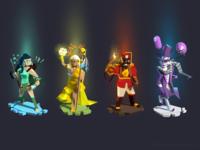 """""""Sacred seasons"""" game concept"""