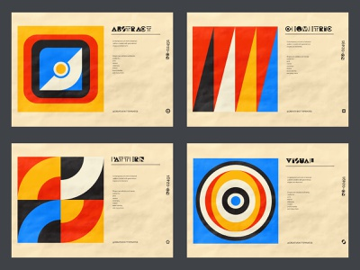 Geo-Neo poster collection. Poster series. geometric cover poster abstract abstracted graphic design simple shapes artwork print brutalism retro pattern design daily