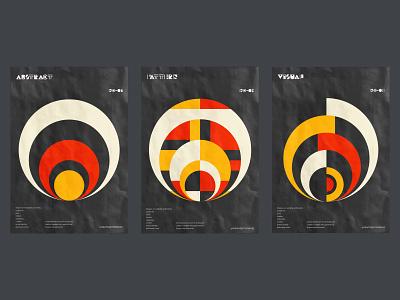 Minimal poster design collection. black minimal minimalist design poster illustration vector shapes print digital artwork geometric circular abstract