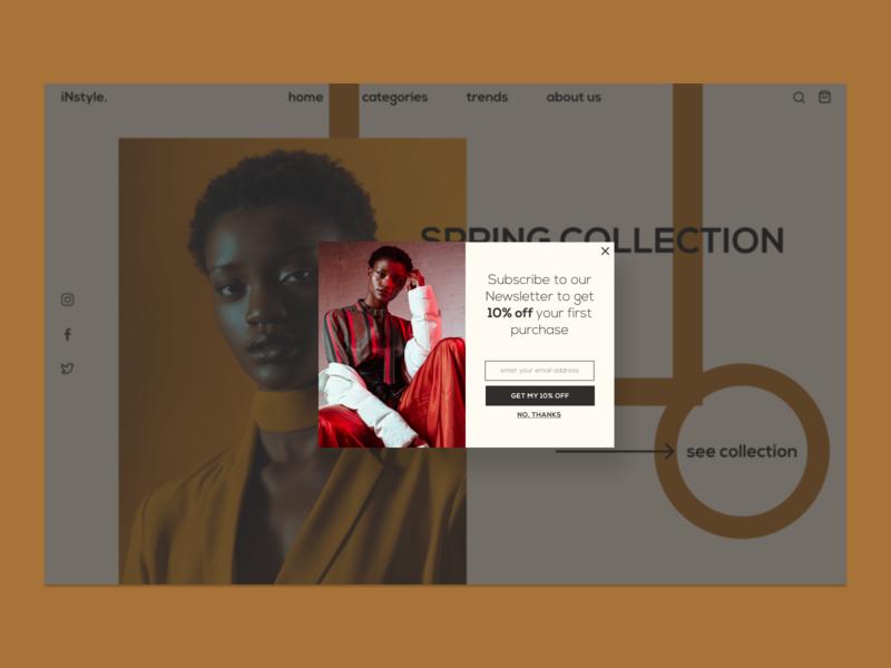 Pop-Up / Overlay 016 overlay pop-up design uidesign dailyuichallenge dailyui