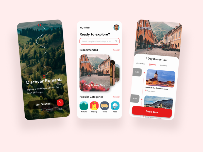 Itinerary/079 booking app tourism dailyui 079 079 itinerary 079 travel app design travel app travel itinerary