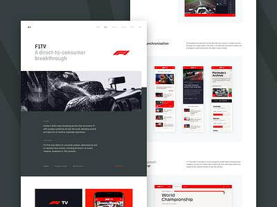 Ostmodern - Work: F1TV webflow racing sport motorsport ux ui digital product design case study agency