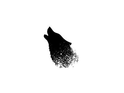 Artwork white black and white minimalist imagination graphicdesign crea wolf black photoshop logo arts music artwork paris creation adobe design france