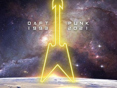 Artwork - Daft Punk Tribute designer vector cover illustration music arts artwork paris creation design france