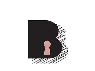 Logotype - B à Ba logotype design pink black logotype designer logo arts artwork paris creation design france