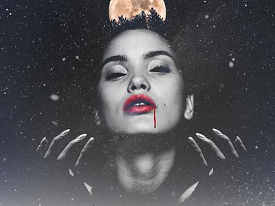Vampire arts artist art creations composition dark imagination artwork creation