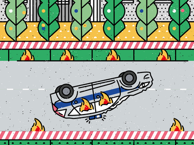 BEE'S KNEES visualart artwork illustrator graphicdesign flatdesign icon vector illustration police