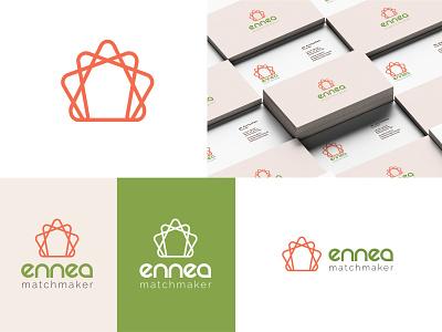 CLIENT WORK - Ennea Matchmaker design branding agency logotype branding design branding visual identity logodesign logo brand identity