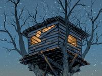 Treehouse closeup
