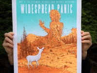 Widespread Panic May 3rd posters