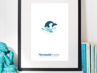 Mermaid Studio - branding poster
