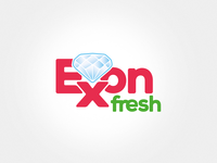 Exon Fresh - washing powder logo