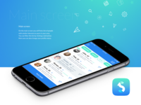 Social networking mobile app