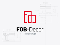 FOB-Decor logo design