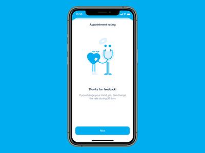 Medical Clinic App clinic medicine app mobile ui ux