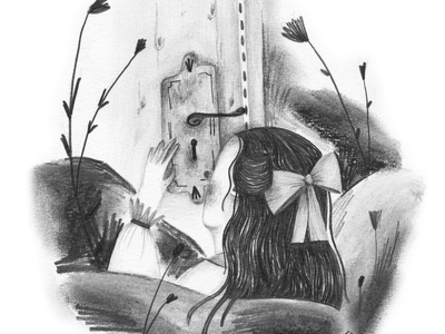 looking through the keyhole character design fairytale book kids illustration kidlitart illustration childrens illustration childrens book children book illustration book art