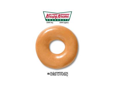Krispy Kreme social media restaurant food and drink art vector design photoshop illustraion