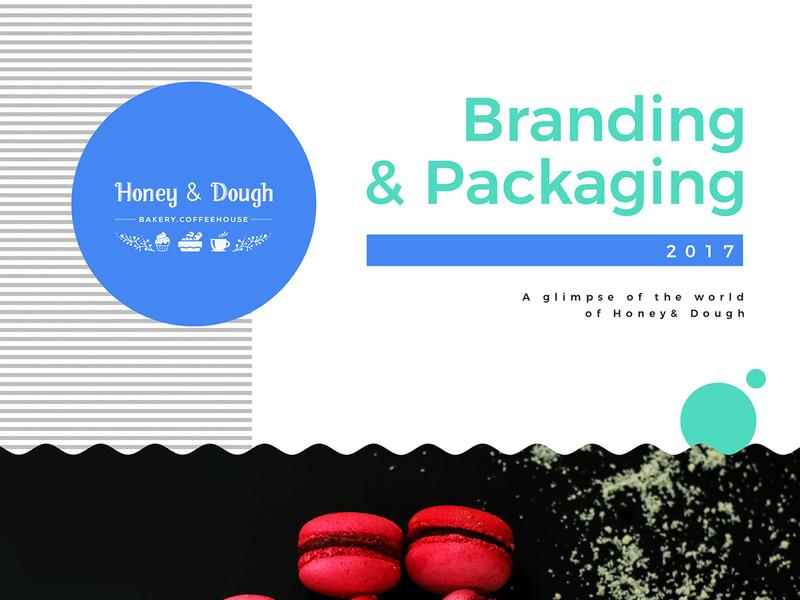 Honey & Dough Branding Project concept illustrator photoshop branding design logo packaging visual design branding