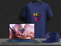 Gamer - Logo Design illsutrator snapback cap tshirt branding design design art art portfolio illustration branding concept design