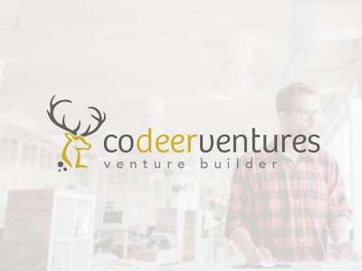 CodeerVentures startup builder branding design illustration logo