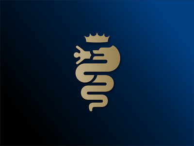 Internazionale Milano - vintage logo milan biscione il biscione snake serpent milano internazionale inter icon logo minimalist