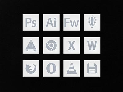 Few Minimal Icons