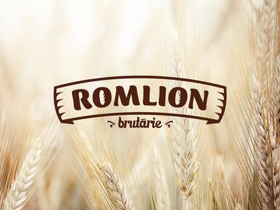 Romlion Bakery Logo