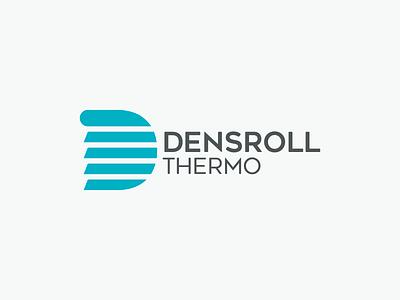 Densroll Thermo minimalist window rolls shutters window shutters d logo icon louver