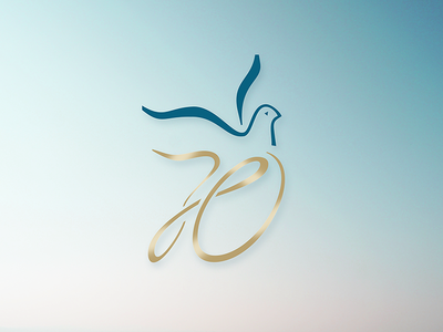70th Church Anniversary Logo