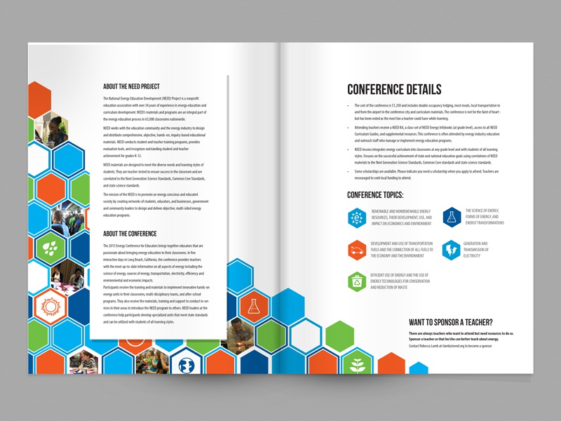 2015 Conference Brochure need conference brochure energy national