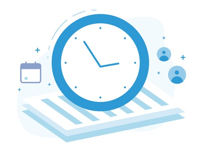 Timesheet Email Illustrations