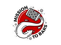 Mission to Bars Sticker