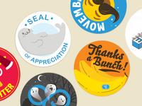 Appreciation Stickers