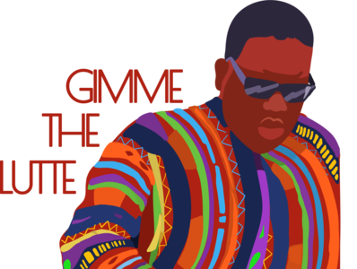 Gimme The Lutte graphics branding design illustration