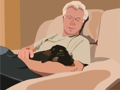 Man's Best Friend illustrator illustration graphics design